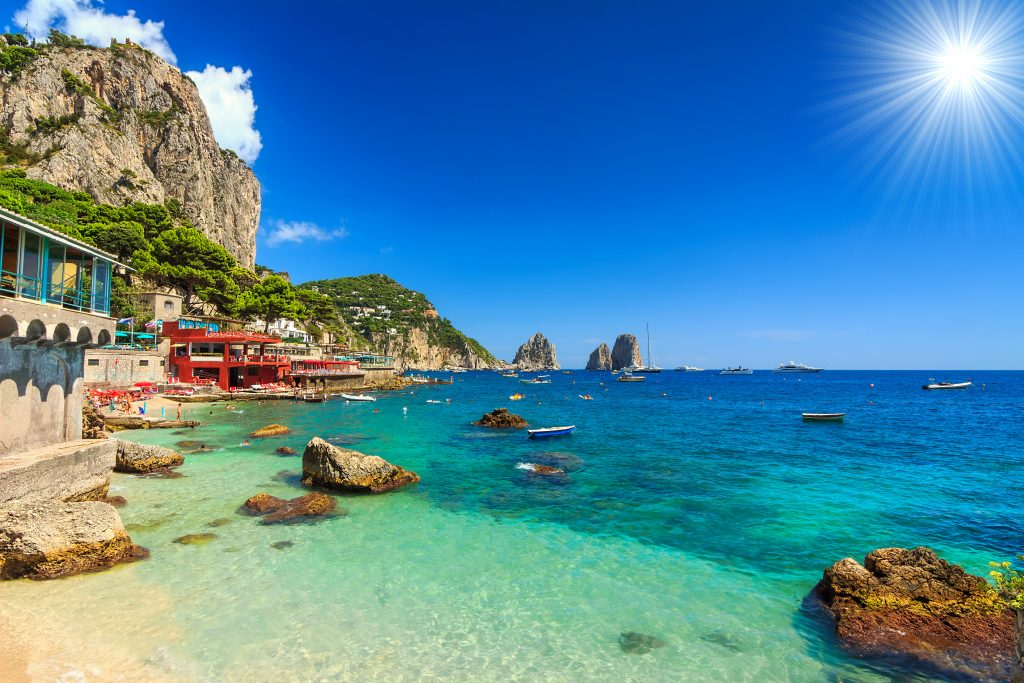 Things to Do in Capri - Beach