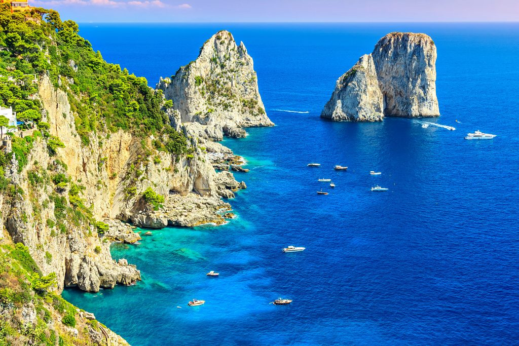 Things to Do in Capri - Faraglioni