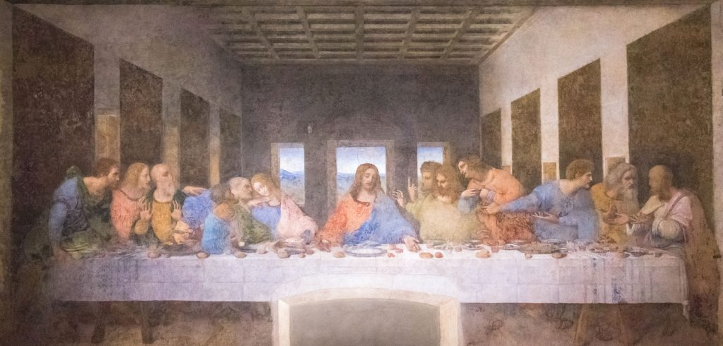 The Last Supper Leonardo Da Vinci Milan Italy